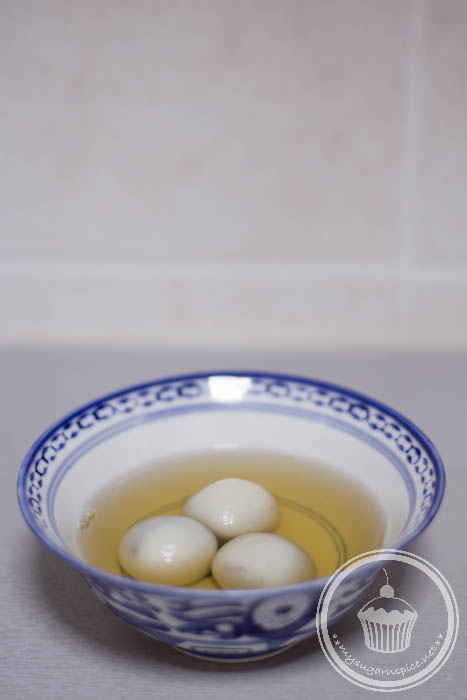 A bowl of Tang Yuan